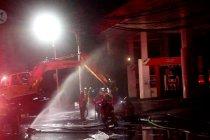 Terjadi 5 kali ledakan di SPBU Margomulyo Surabaya