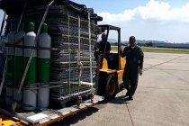 Layanan darurat, tentara Brazil mengirim oksigen ke Amazonas