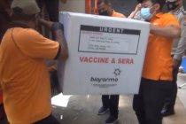 Pos Indonesia wilayah Maluku distribusikan vaksin COVID-19 tahap I