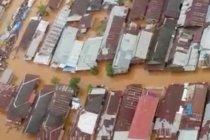Kabupaten Banjar Kalimantan Selatan masih terkepung banjir