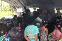 Ribuan warga Halmahera Utara terdampak banjir bertahan di pengungsian
