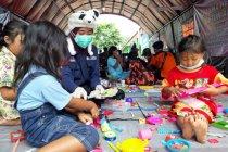 Maharesigana UMM tangani psikososial pengungsi banjir-longsor Nganjuk