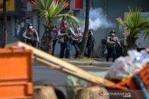 Polisi Myanmar menindak demonstrasi, satu orang dilaporkan tewas
