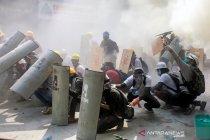 Pemrotes Myanmar berdemo lagi setelah kerusuhan berdarah pascakudeta