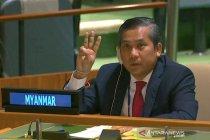 Dipecat junta militer, Dubes Myanmar untuk PBB bersumpah melawan