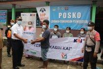KAI Madiun salurkan bantuan untuk korban longsor Nganjuk