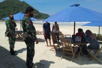 Kodim Lombok Tengah intensifkan prokes jelang Bau Nyale