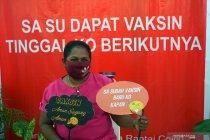 Vaksinasi COVID-19 tahap kedua di Papua Barat