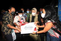 LKBN ANTARA berikan bantuan pembangunan MCK di  Indramayu