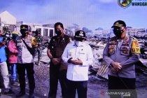 Bupati Manggarai Barat minta Kepolisian usut kebakaran pasar Lembor
