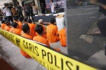 45 pengedar narkoba beromzet ratusan juta ditangkap di Tulungagung
