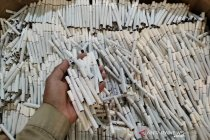 KPPBC Kudus amankan 120 ribu batang rokok ilegal