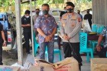 Polda NTT salurkan bantuan untuk warga eks Tim-Tim terdampak bencana