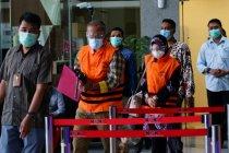 KPK menahan eks dan anggota DPRD Jabar tersangka kasus dana banprov