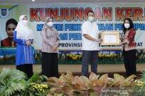 Menteri PPPA beri penghargaan kepada Gubernur NTB Zulkieflimansyah