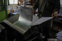 Produksi Al Quran huruf Braile