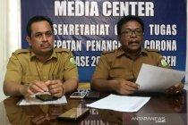 100 kasus baru COVID-19 di Aceh dalam tiga hari terakhir