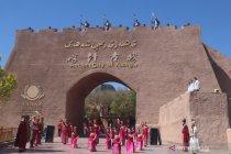 Pariwisata Xinjiang bergeliat, namun belum pulih