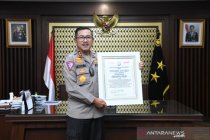 Lemkapi beri penghargaan presisi award untuk Korlantas Polri