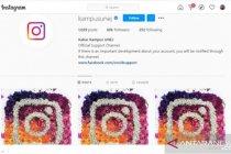 Tiga akun media sosial resmi Universitas Jember diretas