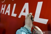 Perkembangan jumlah vaksinasi COVID-19 di Indonesia