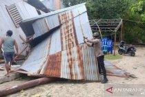 Polres Talaud lakukan penanganan  wilayah terdampak siklon Surigae