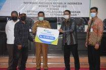 Wagub Sulteng: Pegawai honorer bisa jadi peserta BPJS Ketenagakerjaan