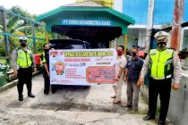 Polresta Palangka Raya sosialisasikan larangan pulang kampung Lebaran
