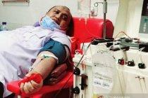 Ketua DPRD Kota Bogor donor plasma konvalesen bantu pasien COVID-19