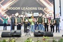"""Ade Yasin dapat banyak ide dari milenial peserta \""""Bogor Leaders Talk\"""""""