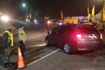 Antisipasi larangan mudik, Polres Cianjur siagakan ratusan anggota