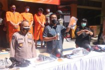 Polda Bali bekuk enam pelaku pembobol ATM lintas provinsi