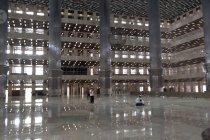 Masjid Istiqlal dibuka untuk shalat tarawih 2.000 jamaah