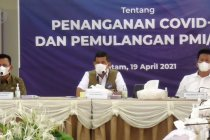 BNPB bantu Kepri tangani pemulangan PMI