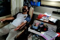 PMI Kota Semarang jemput bola dengan bus donor saat malam