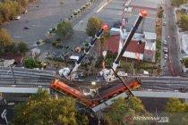 Saksi gambarkan kengerian kecelakaan kereta api Metro Meksiko