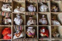 Abu jenazah korban COVID-19 di India