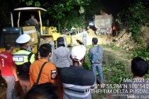 Lalu lintas jalan lintas barat Riau-Sumbar mulai normal