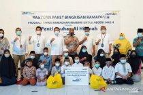 Mandiri Bali-Nusra bagikan 2.700 paket bahan pokok kepada panti asuhan