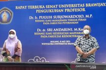 Universitas Brawijaya tambah dua profesor sekaligus