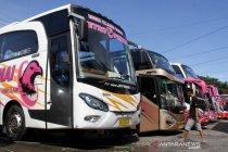 Bus AKAP di Makassar berhenti angkut penumpang