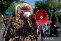 Celuluk berikan penyuluhan saat larangan mudik di Bali