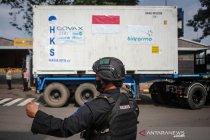 Vaksin AstraZeneca kembali tiba di Indonesia