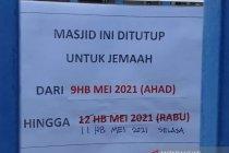 Dua masjid di Kuala Lumpur ditutup beresiko tularkan COVID-19