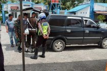 Lalu lintas kendaraan di perbatasan Aceh-Sumut menurun