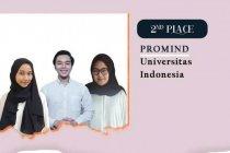 Mahasiswa Prodi Humas Vokasi UI juara 2 Comminfest 2021