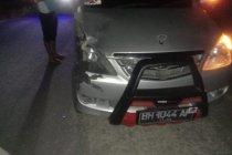 Motor vs minibus di Bungo, tiga remaja putri tewas