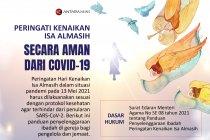 Peringati Kenaikan Isa Almasih secara aman dari COVID-19