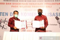 ISI Denpasar-Kemenkumham teken MoU perlindungan kekayaan intelektual