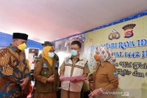 Empat daerah di Banten masuk zona rendah penularan COVID-19